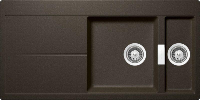 Nobilia virtuves mēbeles no Vācijas ar metāla pārklajuma fasādēm